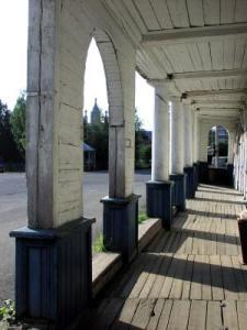 Архитектура деревянных торговых рядов