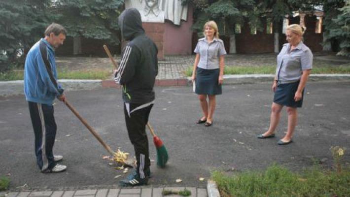 сказал Наказание в россии общественные работы должен заняться